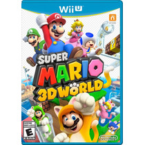 ¡¡¡ Super Mario 3d World Para Nintendo Wii U !!!