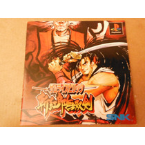 Playstation Samurai Shodown 3 Videogame Anime Japones Pelea