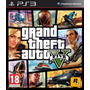 Gta 5 Ps3 Grand Theft Auto V Ps3 + Tarjeta Tiburon Blanco