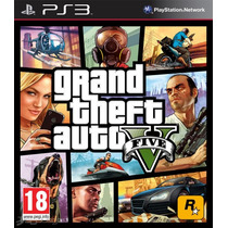 Gta 5 Ps3 Grand Theft Auto V Ps3 + Cod 4 + Counter Strike +s