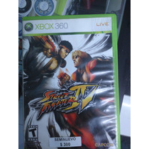 Street Fighter 4 Seminuevo Xbox 360 Igamers