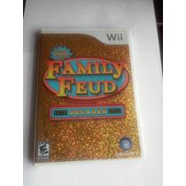 Family Feud Decades Wii Nuevo Sellado