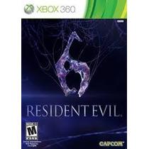Resident Evil 6 Xbox 360 Nuevo Sellado 100% Original