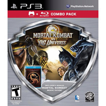 Mortal Kombat Vs. Dc Comics Combo Pack Ps3