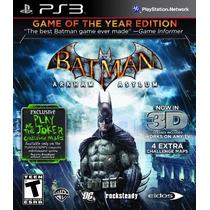 Batman Arkham Asylum + Batman Arkham City (arkham Saga)