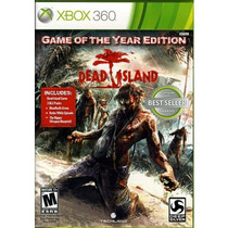 Dead Island Game Of The Year Xbox 360 Nuevo Sellado