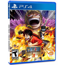 :: One Piece Pirate Warriors 3 M S I ::. Para Playstation 4