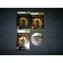 Deus Ex Human Revolution Completo Para Xbox 360,excelente