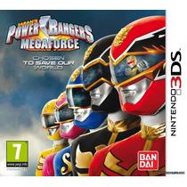 Power Rangers Mega Force Nintendo 3ds Nuevo Original