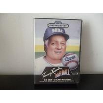 Sega Genesis. Tom Lasorda Baseball