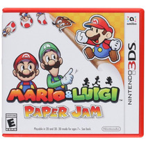 Mario & Luigi Paper Jam - 3ds, New 3ds, 2ds [físico] Fgk