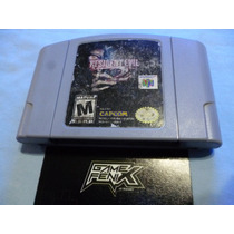 Resident Evil 2 Para Nintendo 64 N64 Ultra. By Capcom