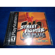 Street Fighter Ex 2 Para Playstation Psone Psx Ps1