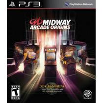 Midway Arcade Ps3 Nuevo Sellado Original Disco Fisico