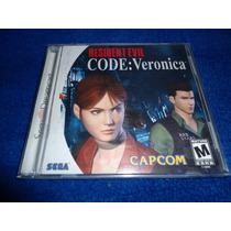 Resident Evil Code Veronica Para Sega Dreamcast