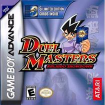 Gba Duel Masters Kaijudo Showdown Original (mercado Pago)