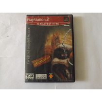 Twisted Metal Black Online Ps2 2 Discos Playstation 2