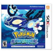 Pokemon Safiro Alfa Nintendo 3ds Nuevo Blakhelmet Sp