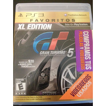 Gran Turismo 5 Xl Edition Ps3 Greatest Hits
