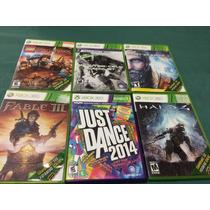 Xbox 360 - Fable 3, Splinter Cell, Lost Planet, Lego Hobbit