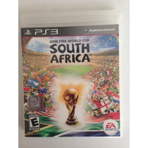 Fifa World Cup South Africa, Ps3, Juego Físico, Play Station