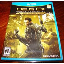 Videojuego Deus Ex Human Revolution Directors Cut Wii U