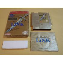 Zelda Ii The Adventure Of Link Nintendo Nes Completo