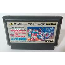 Transformers Mystery Of Convoy / Convoy No Nazo Famicom Nes