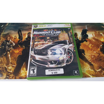 Midnight Club Los Angeles Seminuevo Xbox 360 En Igamers