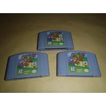 Super Mario 64 Nintendo 64 Excelente Estado Precio X Pieza.