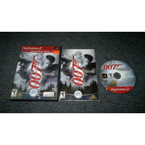 007 Everything Or Nothing Completo Para Play Station 2