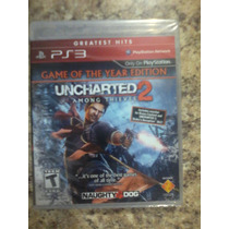 Uncharted 2 Game Of The Year Ps3 Nuevo