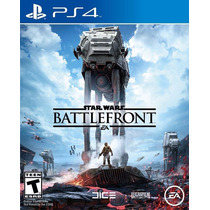 Star Wars Battlefront - Ps4 (físico) *fgk*