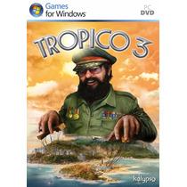 Pc Tropico 3 (acepto Mercado Pago Y Oxxo)