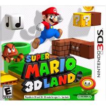 Super Mario 3d Land Para Nintendo 3ds Y 3ds Xl En Veracruz