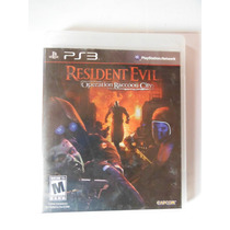 Ps3 Playstation Resident Evil Operation Raccon City Videogam
