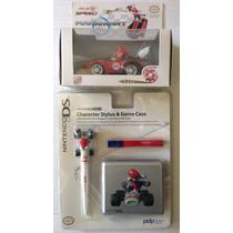 Accesorios Mario Kart Nintendo 3ds, Dsi, Ds + Figura