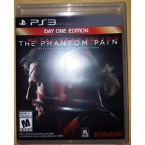 Metal Gear Solid V Ps3 Edición Day One - Nuevo Sellado