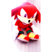 Sonic The Hedgehog - Peluche De Knuckles Peluche