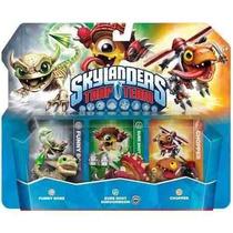 Skylanders Trap Team Triple Paquete De Personajes