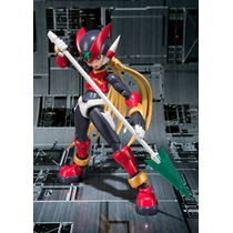Zero Rojo Megaman S.h. Figuarts Bandai