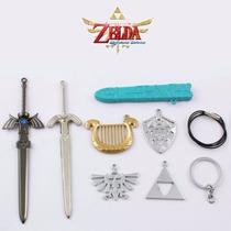 Collares Zelda Necklace Ocarina Espada Majoras Legend Dije