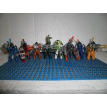 Mega Bloks Lote 8 Figuras Dragons Universe