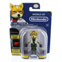 Figura De World Of Nintendo Starfox Fox Mccloud - Nueva