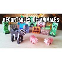 Figuras Armables De Minecraft Papercraft