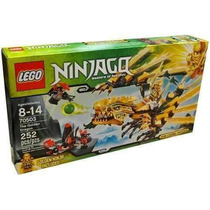 Ninjago The Golden Dragon Equipo Básico De Construcción