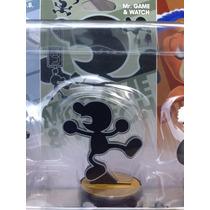 Amiibo Mr. Game & Watch Nuevo Entrega Inmediata Nintendo