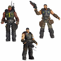 Gears Of War Series 2 Dominic, Marcus & Augustus