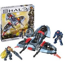 Mega Bloks Halo 97102 Nave Unsc Light Assault 169 Piezas