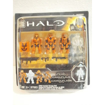Mega Bloks 97083 Halo Unsc Combat Orange Unit 37 Pzs